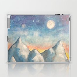 With How Sad Steps, Oh Moon Laptop & iPad Skin