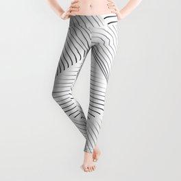 Diagonal Stripes Background 12 Leggings