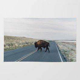Buffalo Crossing Rug