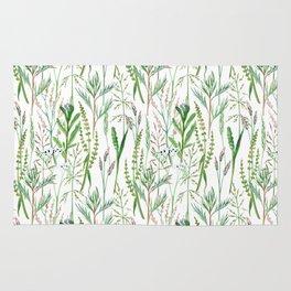 herbal pattern Rug