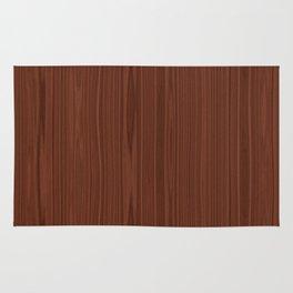 Walnut Wood Texture Rug