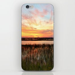 Sunset And Reflections iPhone Skin