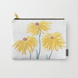 three yellow flowers Carry-All Pouch