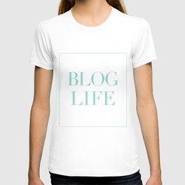 blog and/or thug life T-shirt