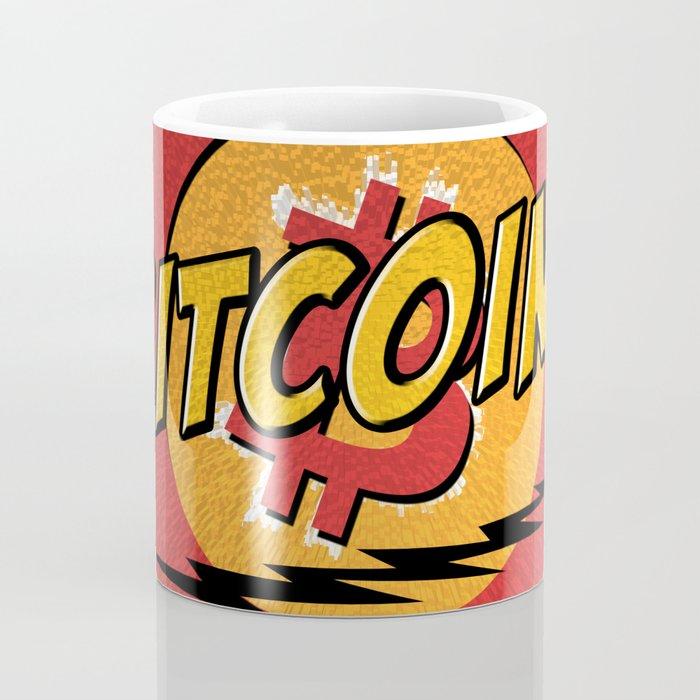 Bitcoin red Tataaa Coffee Mug