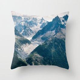 Chamonix, France #society6 #decor #buyart Throw Pillow