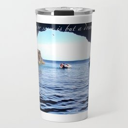 Blue Cave Travel Mug