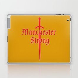 Manchester Strong Laptop & iPad Skin