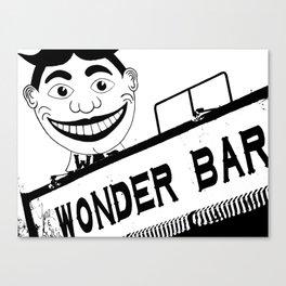 Wonder Bar Canvas Print