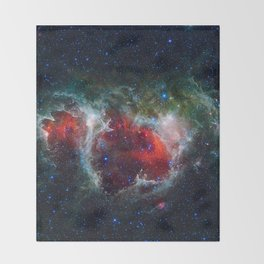 Soul Nebula Throw Blanket