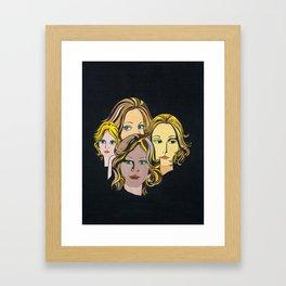 1970's Glam Art Framed Art Print