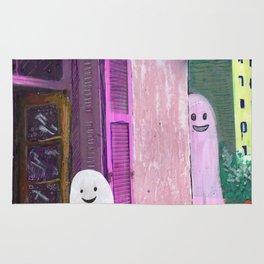 ghost house Rug