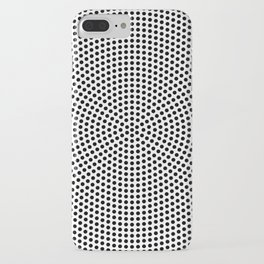 Concentric Dots iPhone Case