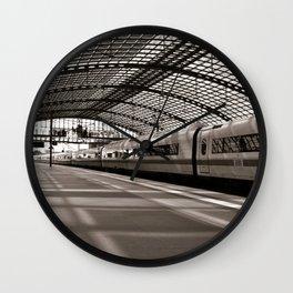 Train-Station of Berlin Wall Clock