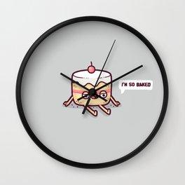 Baked Wall Clock