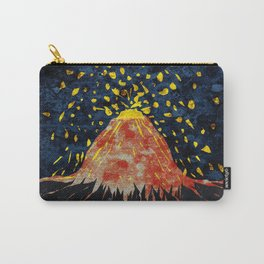 Erupting volcano Carry-All Pouch