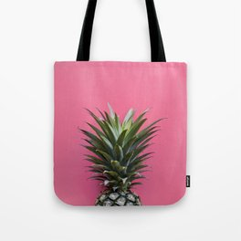 Pink Pineapple Tote Bag