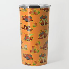 GoGo Pattern Travel Mug
