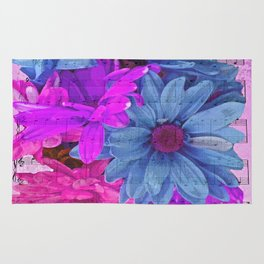 FLOWERS AND MUSIC Rug