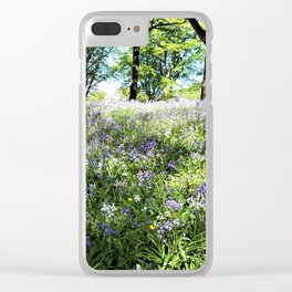 Bluebell Clear iPhone Case