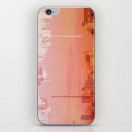 CHAMPAGNE DRUNK SKYLINES iPhone Skin