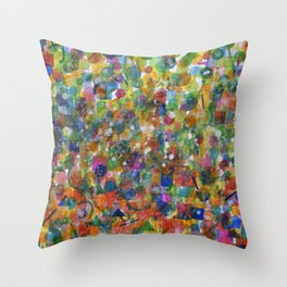 Carnival  Throw Pillow