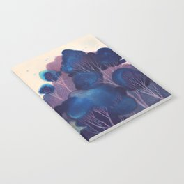 Blue Woodland Notebook