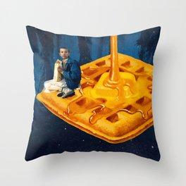 Bitchin' (Blue) Throw Pillow