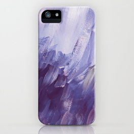purple wind iPhone Case