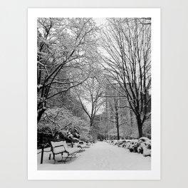 Gramercy Park, New York City Art Print