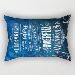 Libraries Rectangular Pillow