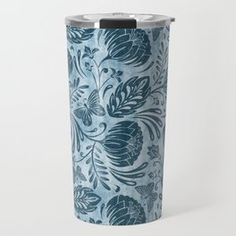 Arabella - Washed Indigo Travel Mug