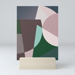 Abstract minimal Mini Art Print
