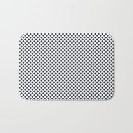 Total Eclipse Polka Dots Bath Mat