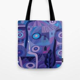 Blue Pozole Tote Bag