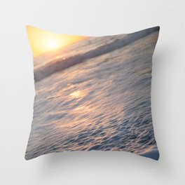 and she rises. Throw Pillow