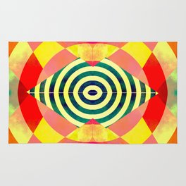 Funky shapes Rug
