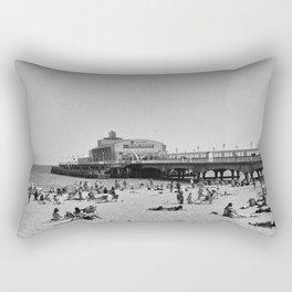 Bournemouth Pier - Summer In England Rectangular Pillow