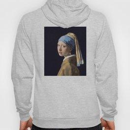 Girl With a Pearl Earring - Vermeer Hoody