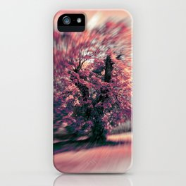 The tree of spring iPhone Case