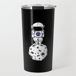 rolling in space Travel Mug