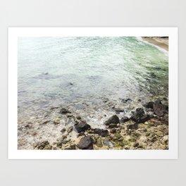 Indonesian Waves Art Print