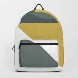 Mid Century Geometric 01 Backpack