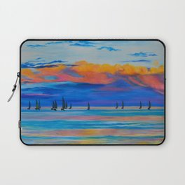 I'd Rather Be Sailing by Teresa Thompson Laptop Sleeve
