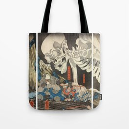 Takiyasha the Witch and the Skeleton Spectre Tote Bag