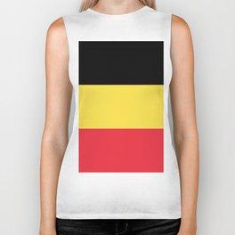 Flag of Belgium Biker Tank