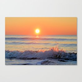 We Danced Like A Wave On The Ocean Canvas Print