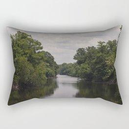 Slow Jungle River Down South Rectangular Pillow