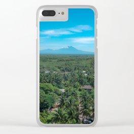 The Palm Jungle Clear iPhone Case