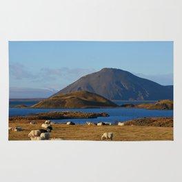 Lake Myvatn Iceland Rug